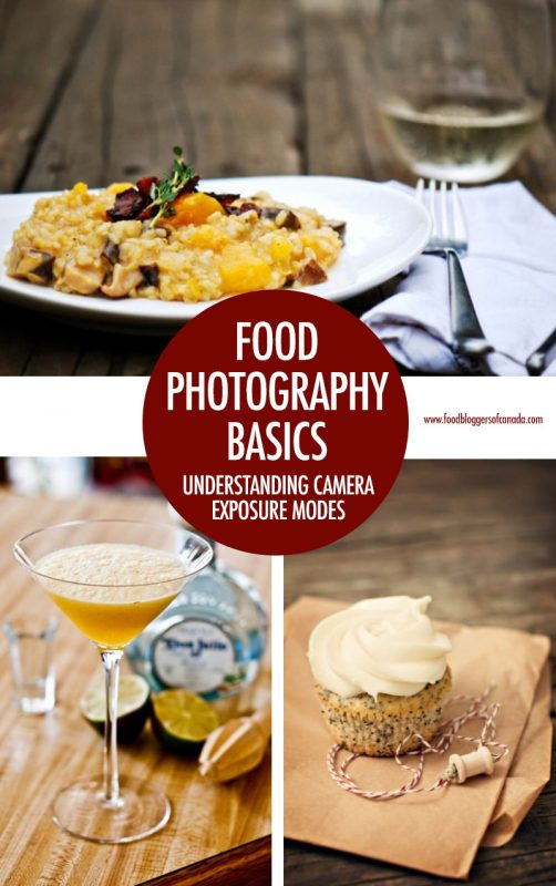 Food Photography Basics: Understanding Camera Modes | Food Bloggers of Canada