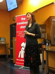Clotilde Dusoulier Chocolate and Zucchini speaks in Toronto