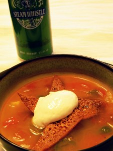 Beer & Tortilla Soup