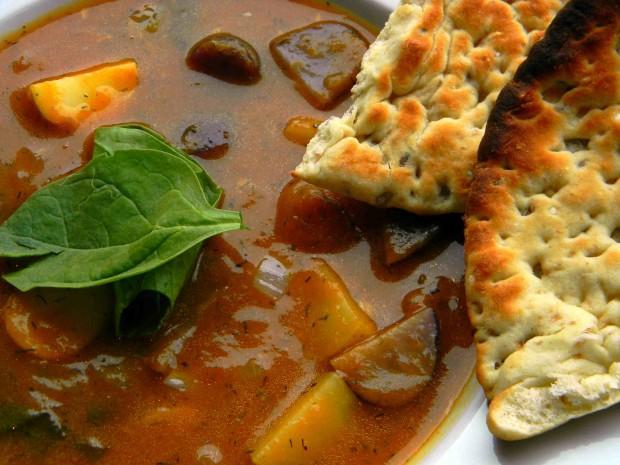 Pumpking Dill Soup