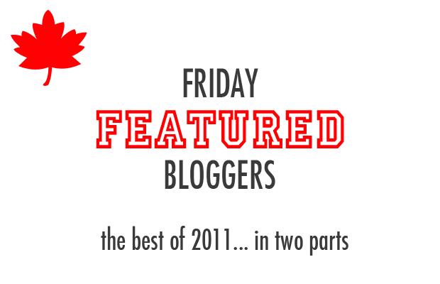 Friday Featured Blogger Recap
