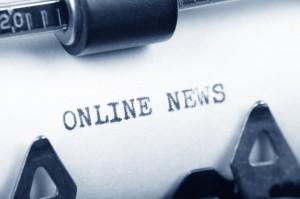 Typewriter with News