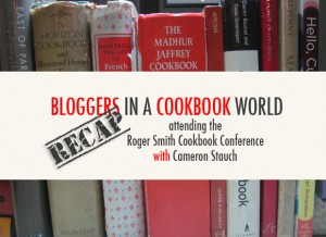 Bloggers in a Cookbook World