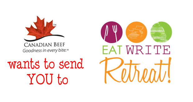 Canada Beef wants to send YOU to Eat Write Retreat