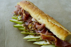 submarine type sandwich