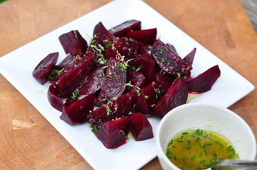 Honey Lime Beet Salad