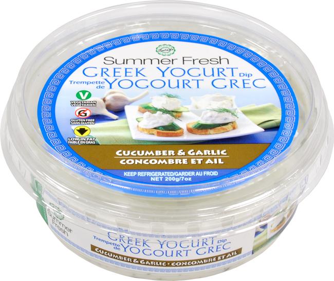 Create an original recipe using summer fresh 39 s new greek yogurt dips food bloggers of canada - Refreshing dishes yogurt try summer ...