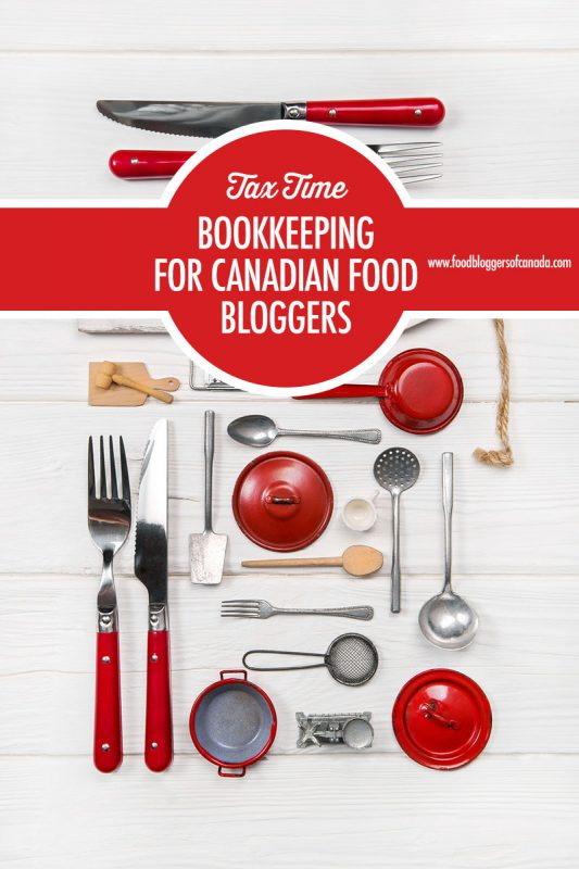 Bookkeeping For Canadian Bloggers | Food Bloggers of Canada