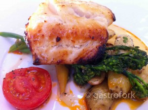Sable Fish at the Stanley Park Teahouse