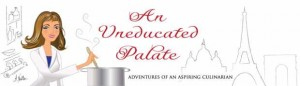 uneducated palate blog header
