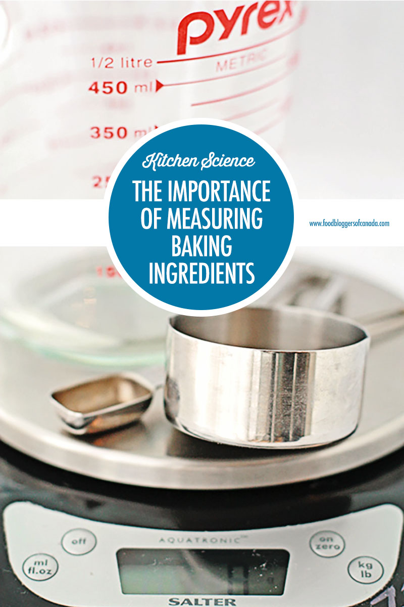 The Importance of Measuring Baking Ingredients | Food Bloggers of Canada