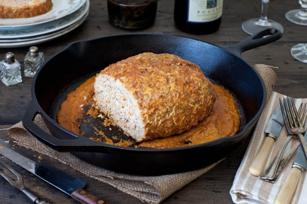 Butter Chicken Skillet Meatloaf