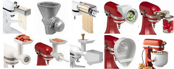 It's a Kitchen Aid Canada stand mixer and attachment  -> Kitchenaid Canada