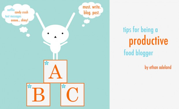 productivity tips for bloggers | www.foodbloggersofcanada.com