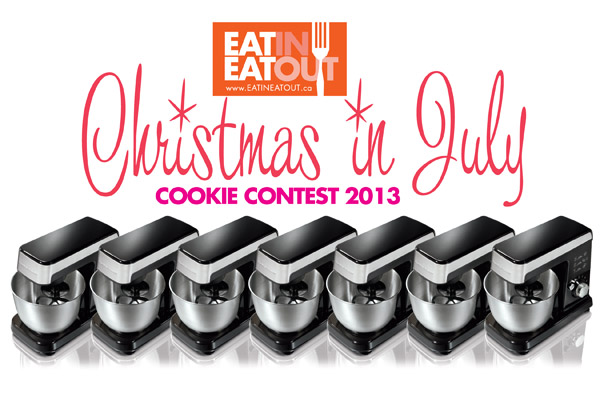 EatinEatOut Christmas in July 2013 Cookie Contest logo