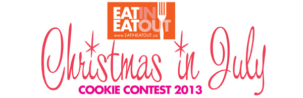 EatinEatOut Chirstmas in July 2013 cookie contest