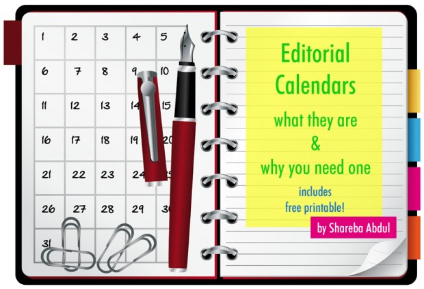 Editorial Calendars for Blogging | www.foodbloggersofcanada.com