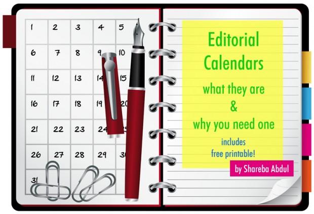 Editorial Calendars for Blogging | www.foodbloggersofcanada.com