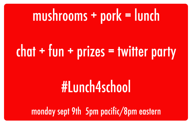 lunch4school twitter party