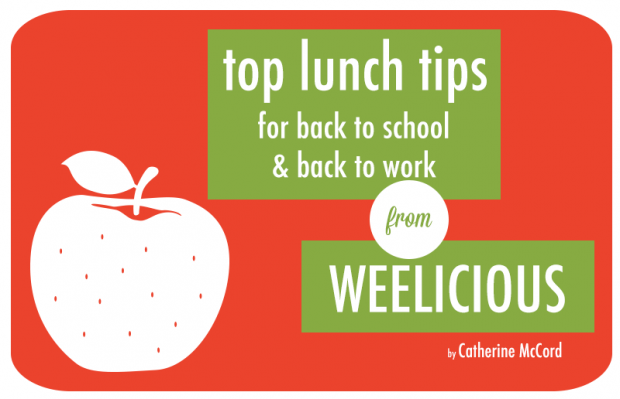 top lunch tips from Weelicious | Food Bloggers of Canada