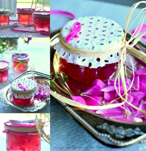 Keep Calm and Carry On - Jelly Jars