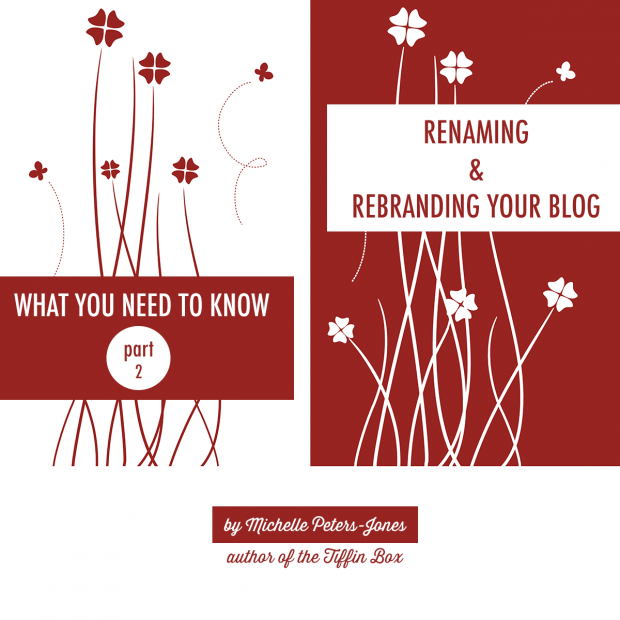 Renaming and Rebranding Your Blog: What You Need to Know Part 2 | www.foodbloggersofcanada.com