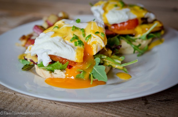 Eggs Benny From Sean Neild | foodbloggersofcanada.com