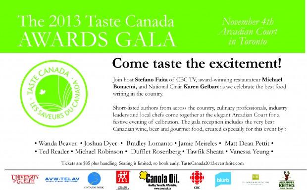 2013-Taste Canada Gala