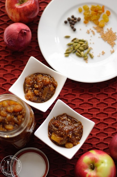Foodie Prints | Tomatillo chutney