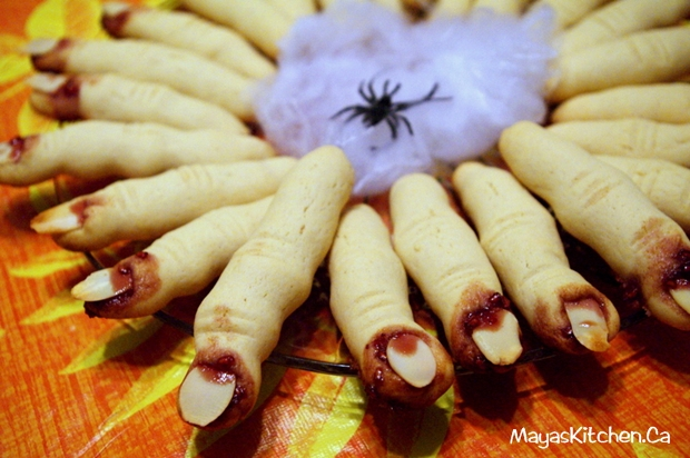 Witch Finger Cookies from Maya's Kitchen