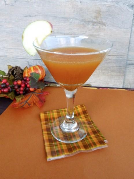 pumpkin apple drink | vanilla and spice