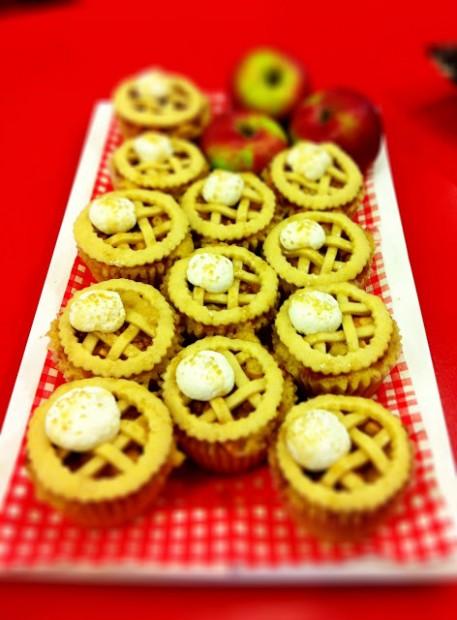 Apple Pie Cupcakes | K-Ravings