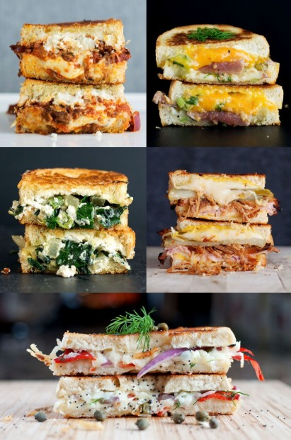 Top 5 Grilled Cheese Recipes - BS' in the Kitchen