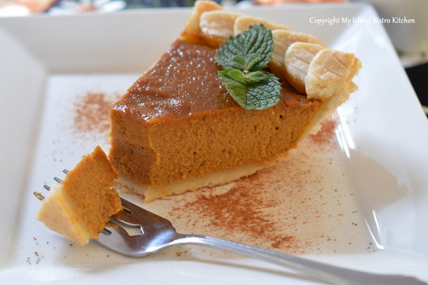 My Island Kitchen Bistro - Pumpkin Pie