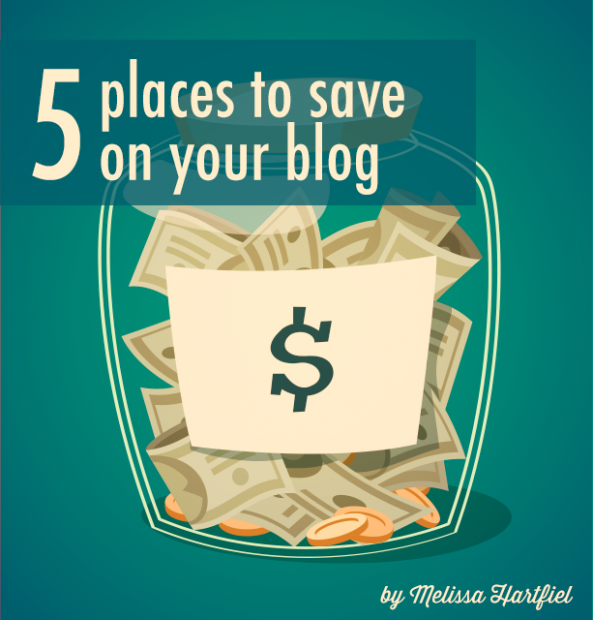5 Places To Save On Your Blog | www.foodbloggersofcanada.com