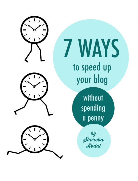 seven ways to speed up your blog without spending a penny | food bloggers of canada