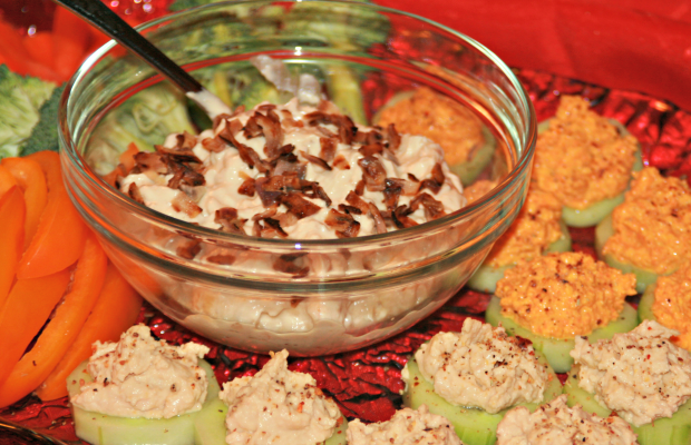 Caramelized French Onion Dip | Grey Cup Roundup Food Bloggersof Canada