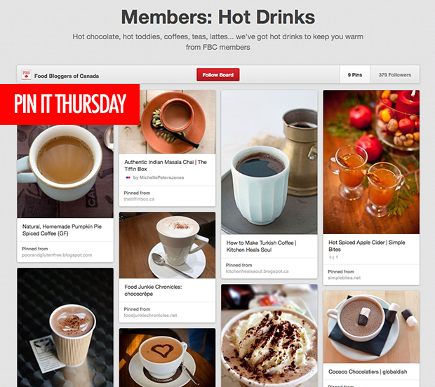 Pin It Thursday - Hot Drinks