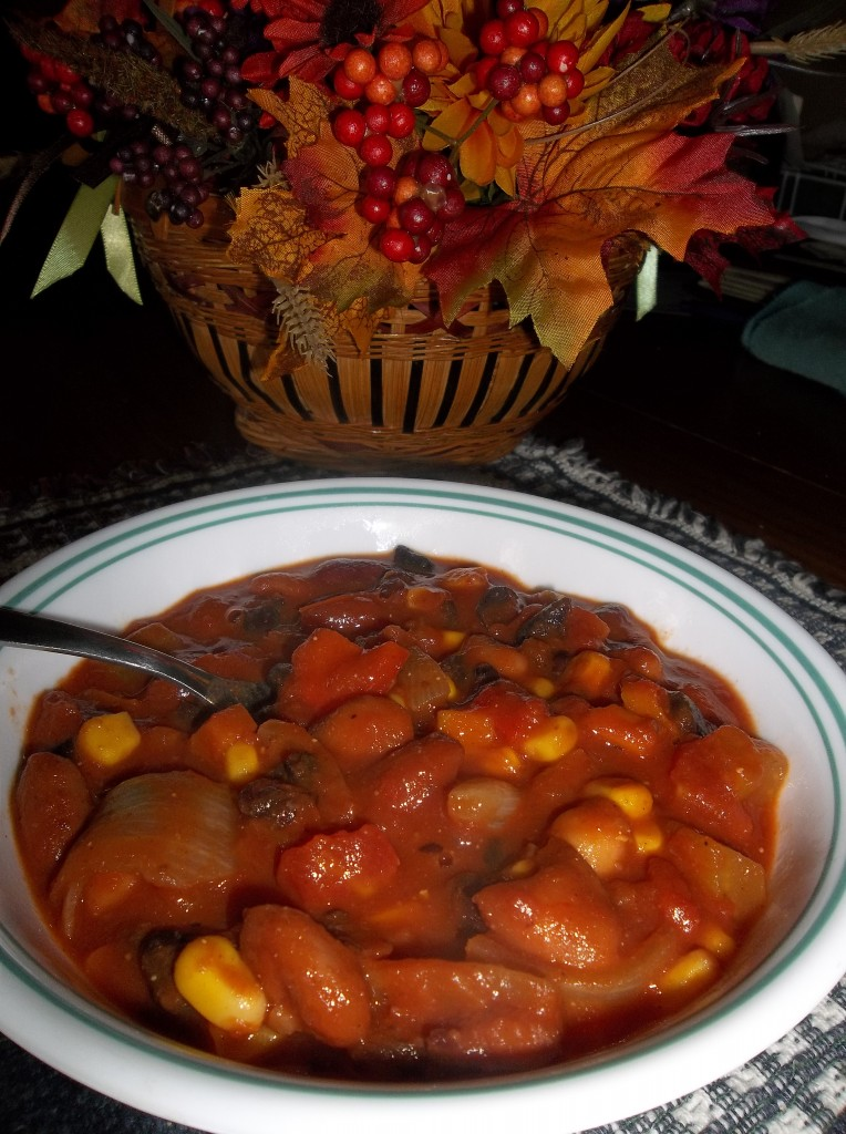 vegetarian chili | Grey Cup Roundup Food Bloggersof Canada