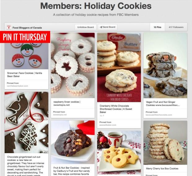 PinIt Holiday Cookies | www.foodbloggersofcanada.com