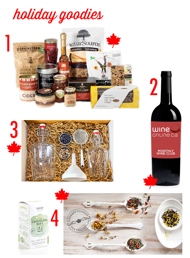 FBC Holiday Gift Guide | www.foodbloggersofcandad.com