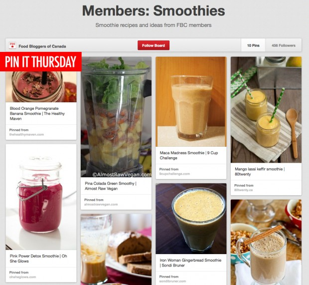 Pin It Thursday: Smootheis | food bloggers of canada