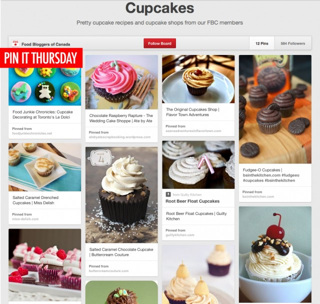 Pin It Thursday - Cupcakes