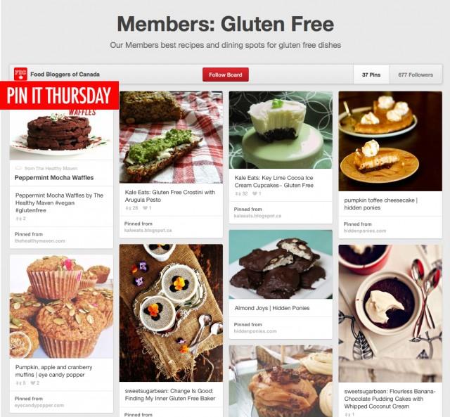 Pin It Thursday - Gluten Free