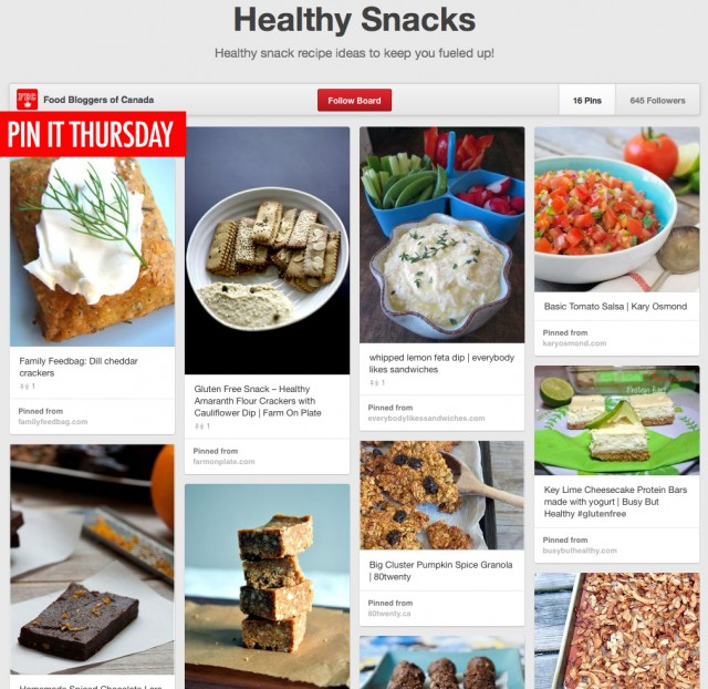 Pin It Thursday - Healthy San
