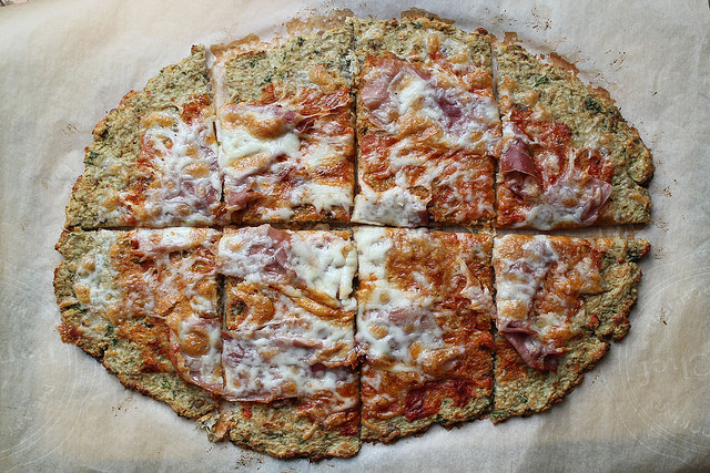 Green Lentil Pizza