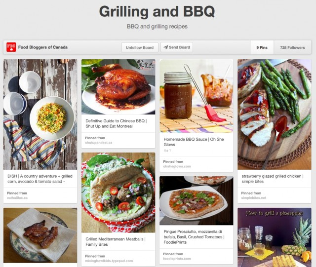 Pin It Thursday: Grilling and BBQ   Food Bloggers of Canada