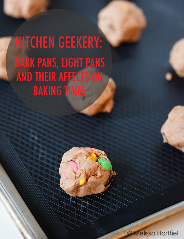 Kitchen Geekery: Dark Pans, Light Pans and Their Affects on Baking Times | Food Bloggers of Canada