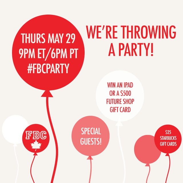 FBCParty - Join Us on Twitter | Food Bloggers of Canada