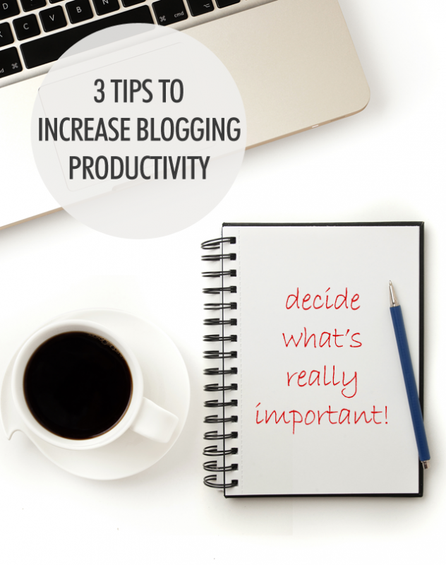 3 Tips For Improving Blogger Productivity | Food Bloggers of Canada